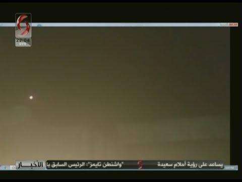 اتصال مع مراسل الإخبارية مازن محمد حول عدوان على اللاذقية