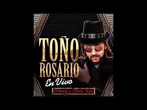 Toño Rosario - Homenaje a JOSEÍTO MATEO (En Vivo)