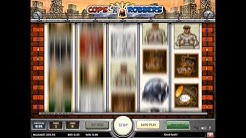 Cops and Robbers online video slot casino spel