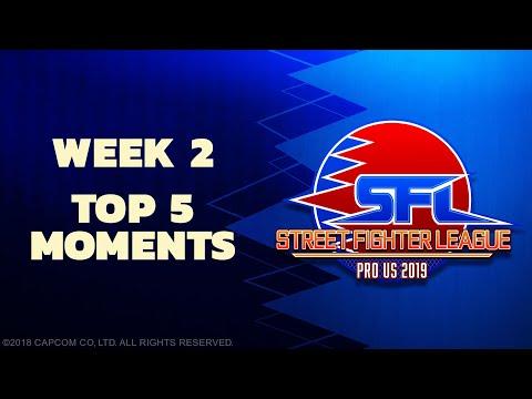 SFL: PRO US 2019 TOP 5 MOMENTS - Week 2 Season 1