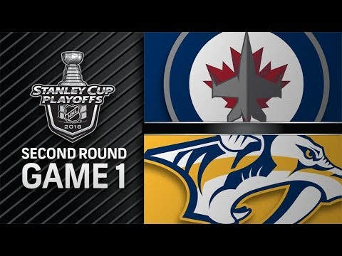Winnipeg Jets vs Nashville Predators – Apr. 27, 2018 | Game 1 | Stanley Cup 2018. Обзор