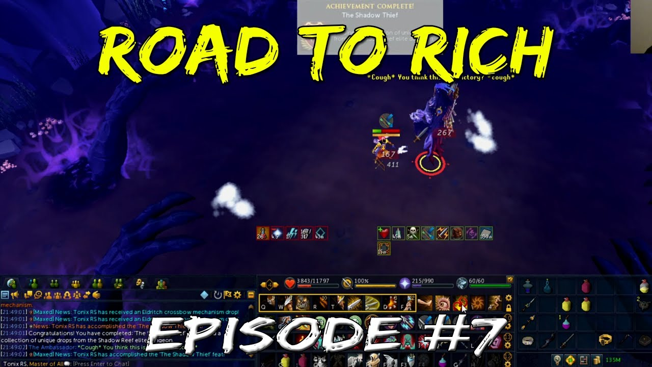 Road to Rich: Episode 7 | ED3 Log Finally Complete! [Runescape 3]
