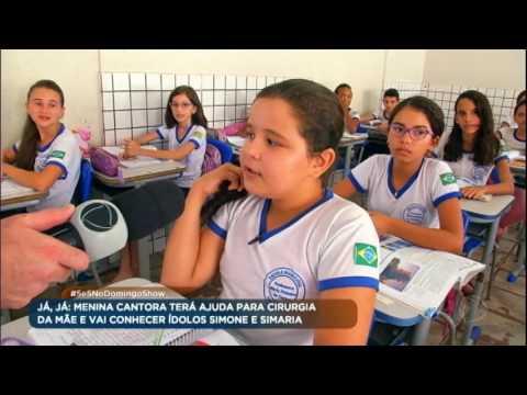 Menina cantora de 12 anos faz sucesso na pequena Esperantina (PI)