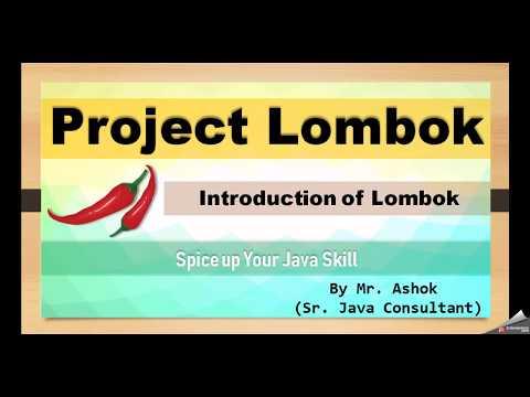 Part-1 # Project Lombok Introduction