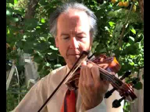 Violinist Bernard Chevalier plays La Cinquantaine