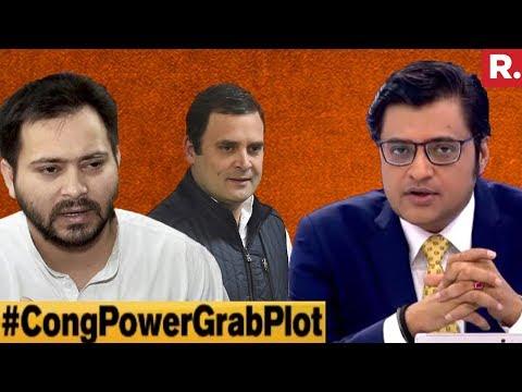 Congress Creating Crisis To Destabilise India? | The Debate With Arnab Goswami