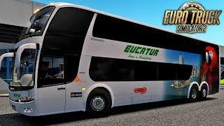 ETS 2 | G6 PARADISO 1800 DD | Eucatur - RBR + Detail + TRBR