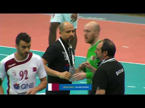 180122 18th Asian Men's Handball Championship 2018 Qatar vs Japan