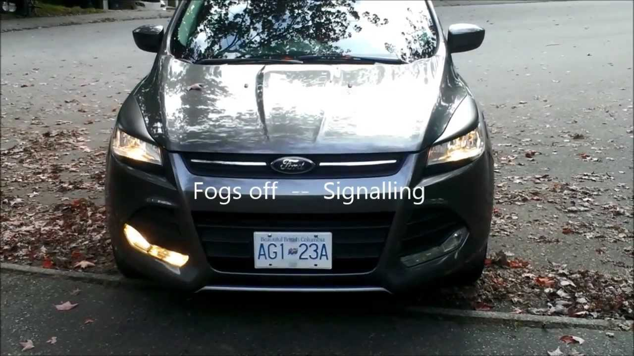 ford escape fog light wiring [ 1280 x 720 Pixel ]