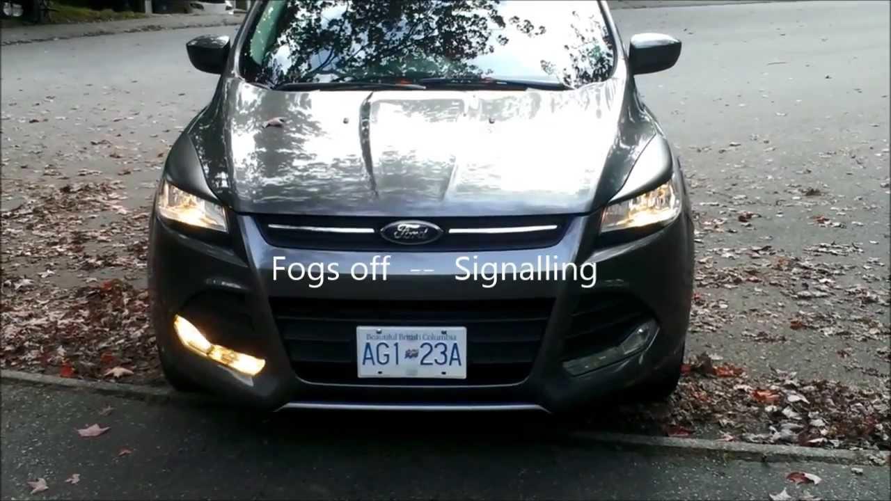 medium resolution of ford escape fog light wiring