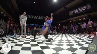 Bgirlsessions bgirl battle 1on1 - prelim - Evita vs Stormy