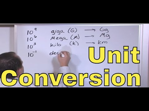 02 - Learn Unit Conversions, Metric System & Scientific ...