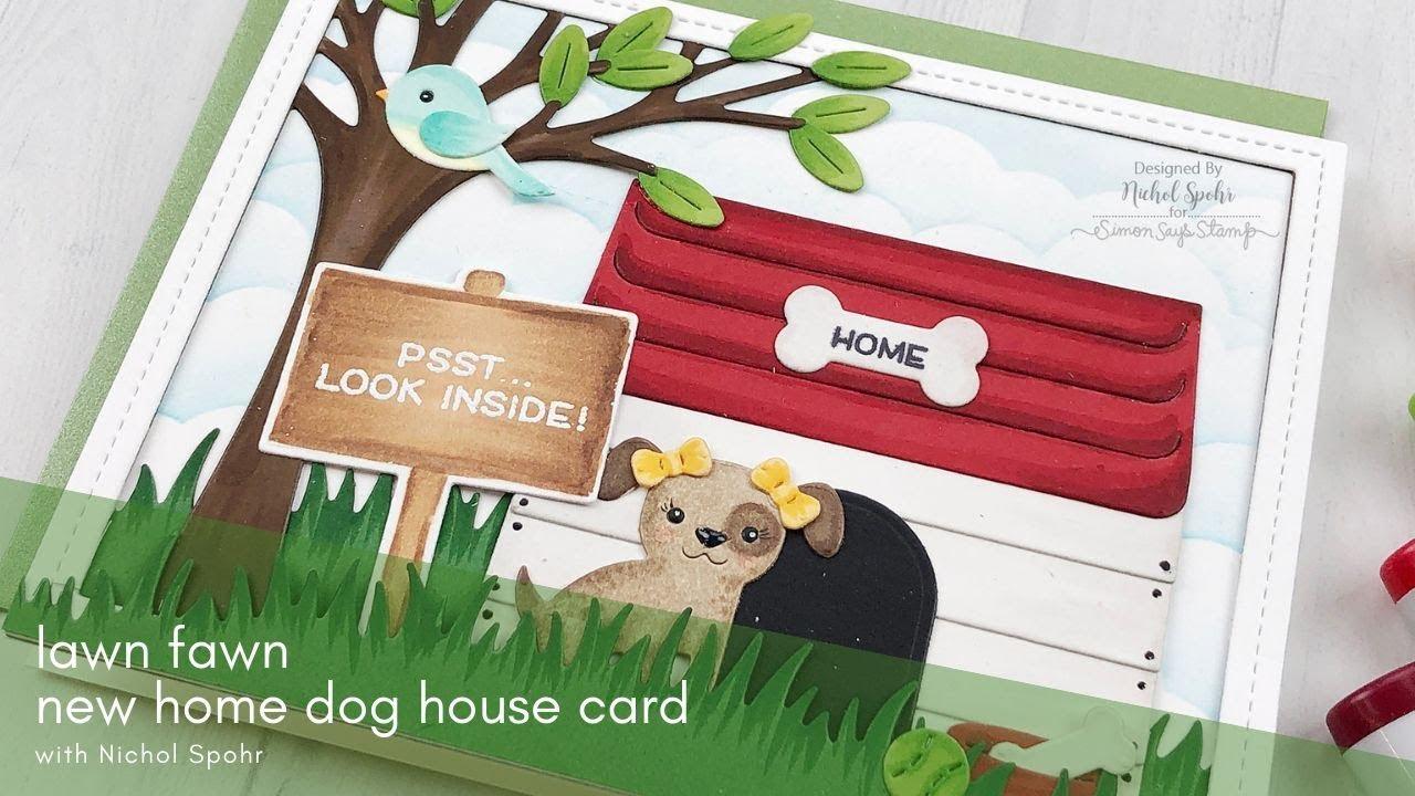 dog house die cut