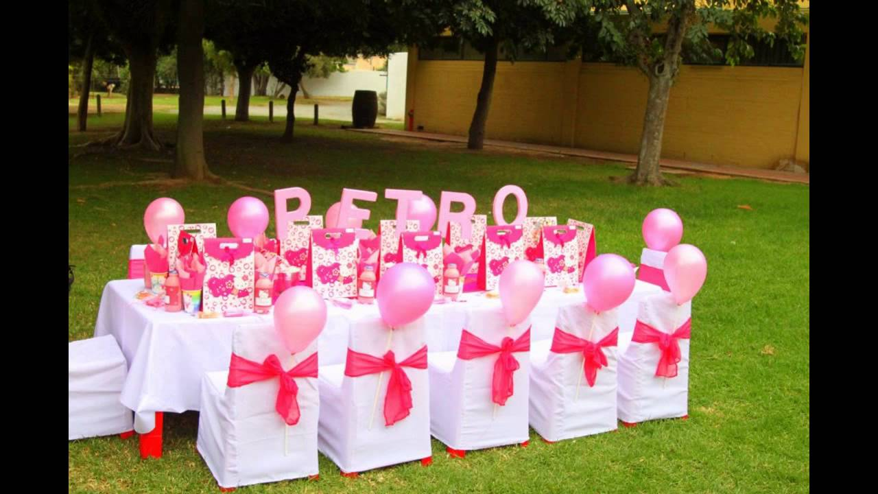 Stunning Hello kitty birthday party decoration YouTube