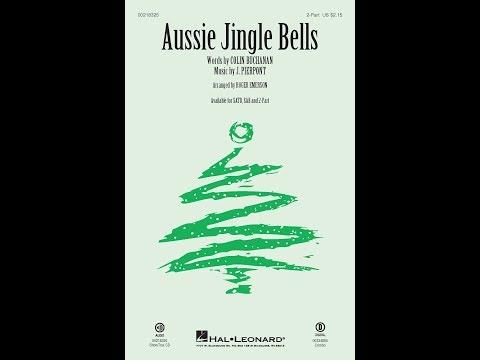 Aussie Jingle Bells (2-Part) - Arranged by Roger Emerson
