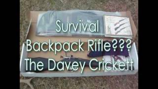The Davey Crickett Youth/Survival Rifle .22 LR L S