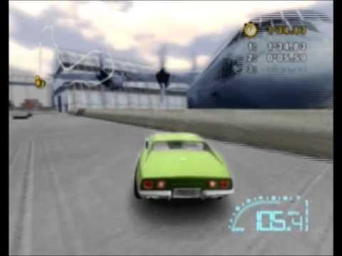 Let's Play Corvette Arcade Mode C3 Races