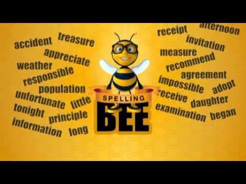 Challenge spelling bee english