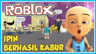 HE MANAGES TO ESCAPE THE EVIL MINION-ROBLOX UPIN IPIN