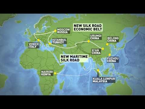 One Belt One Road initiative to connect China to Europe