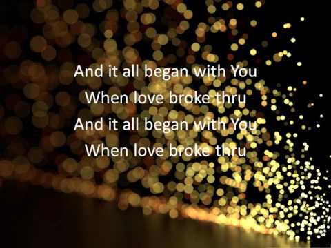 Love Broke Thru - TobyMac