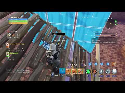 Fortnite Stw How To Build A Shop