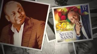 Segun Ozaveshe Sanni @50