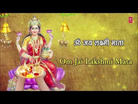diwali-pooja-aarti-i-om-jai-lakshmi-mata-with-hindi,-english-lyrics-by-anuradha-paudwal