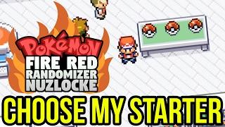 choose my starter pokemon firered randomizer nuzlocke with smkgaming05