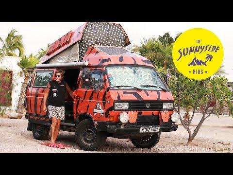 Weltreise Wohnmobil mit Waschmaschine   VW T3 SYNCRO Campervan selber ausbauen