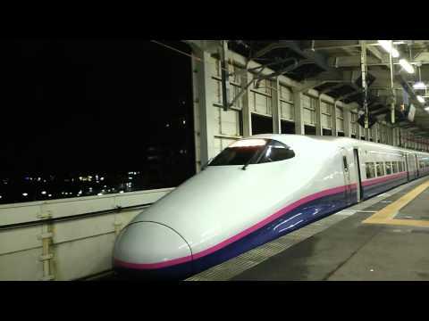 E2系とE3系発車