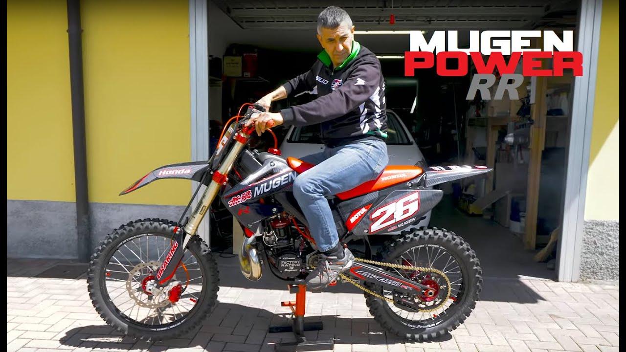 Motocross P9 Nuovo Motore x la MAUGEN POWER CR250 Honda
