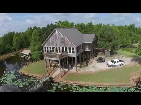 Waterfront Camp For Sale In Avoyelles Parish, LA