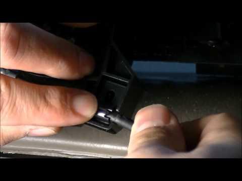 Common Problem:  Honda Accord Temp Control Knob No HEAT No A/C Loose Cable Easy Fix