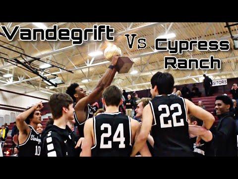 2019 (Playoffs) Vandegrift Vs Cypress Ranch High School Basketball Highlights