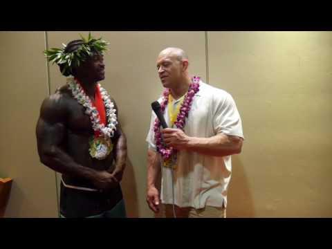 NPC Pacific Island Championships | Robert Arthur Mens Physique Overall Winner