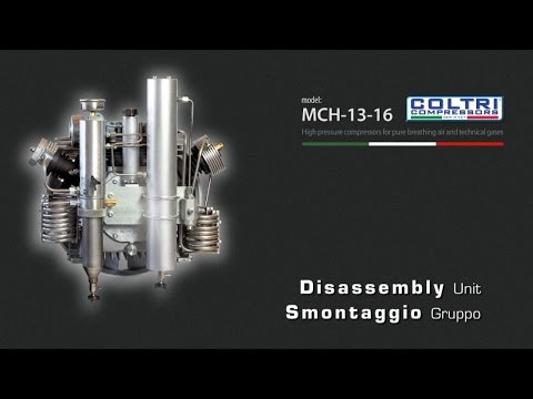 MCH-13-16 COLTRI COMPRESSORS - Disassembly Unit