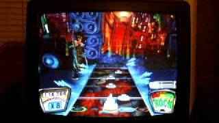 "Guitar Hero II ""Carry On My Wayward Son"" EXPERT 97% Ryan age 6"
