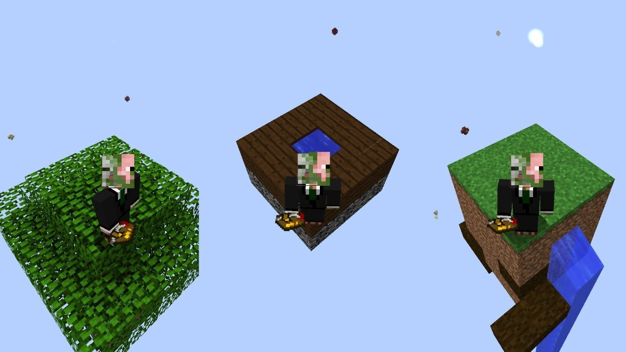 How To: Start on the Wood, Grass, and Garden of Glass Islands in Modern  Skyblock 3 Departed