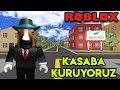 🌇 Kendi Kasabamızı Kuruyoruz 🌇 | Town Tycoon | Roblox Türkçe