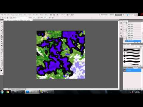 Editing A Minecraft Map With Photoshop