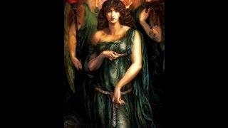 Dante Gabriel Rossetti /astarte syriaca - beata beatrix (Love enthroned) in memoriam miryart