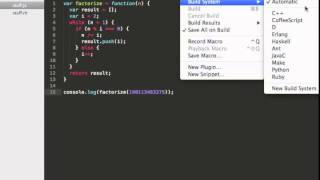 How to set up a JavaScript build system for Sublime Text