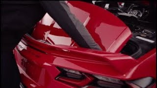 2020 Corvette: Removable Roof Panel | Chevrolet