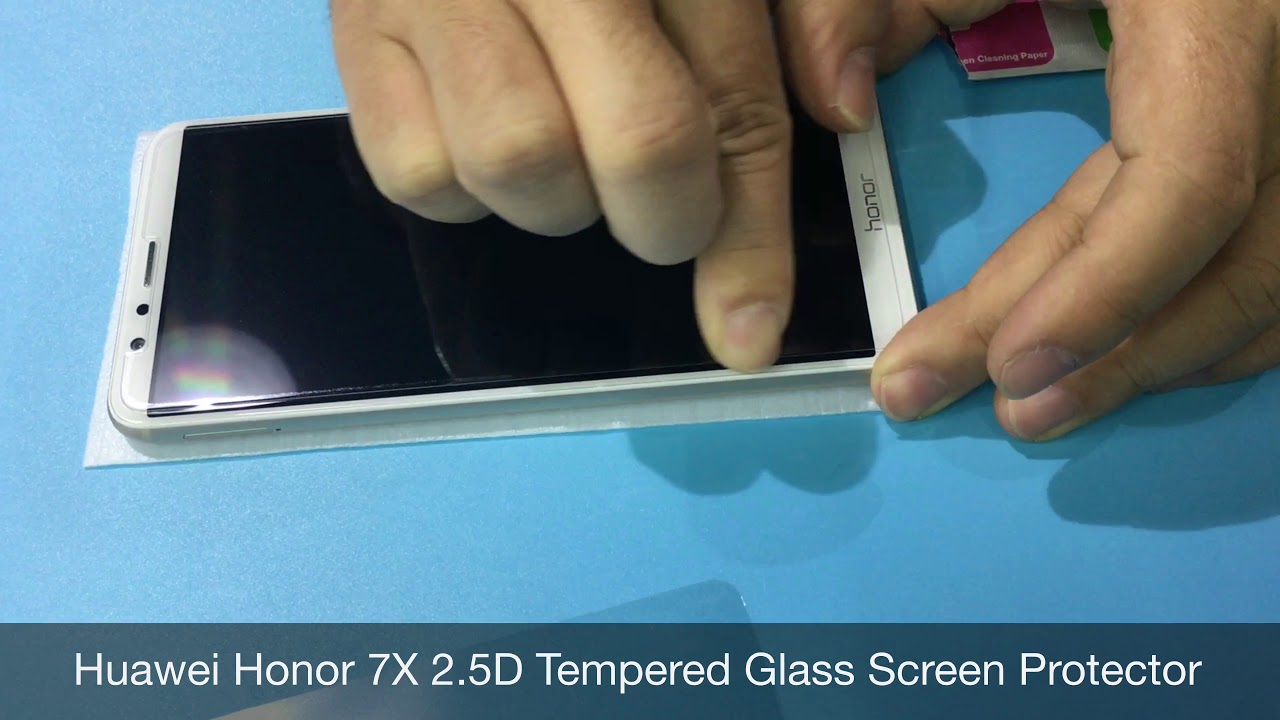 Honor 7X Tempered Glass Screen Protector 2 5D 9H