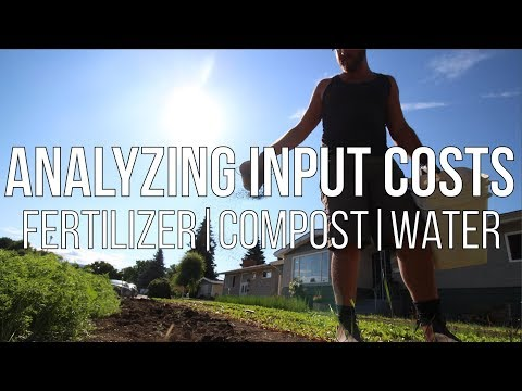 ANALYZING INPUT COSTS | Fertilizer, Compost & Water
