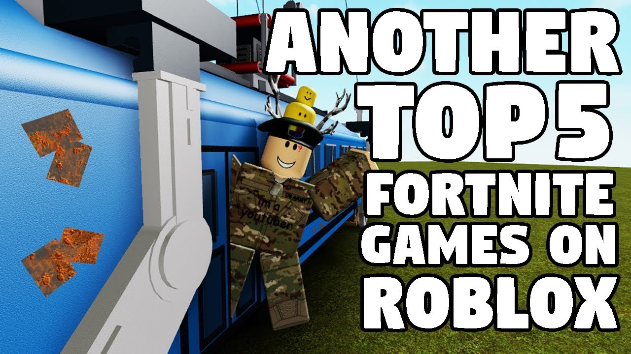 ANOTHER TOP 5 FORTNITE GAMES ON ROBLOX | FUNNY MOMENTS ...