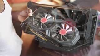 Omen Accelerator EGPU BUILD - Macbook Pro - RX 580