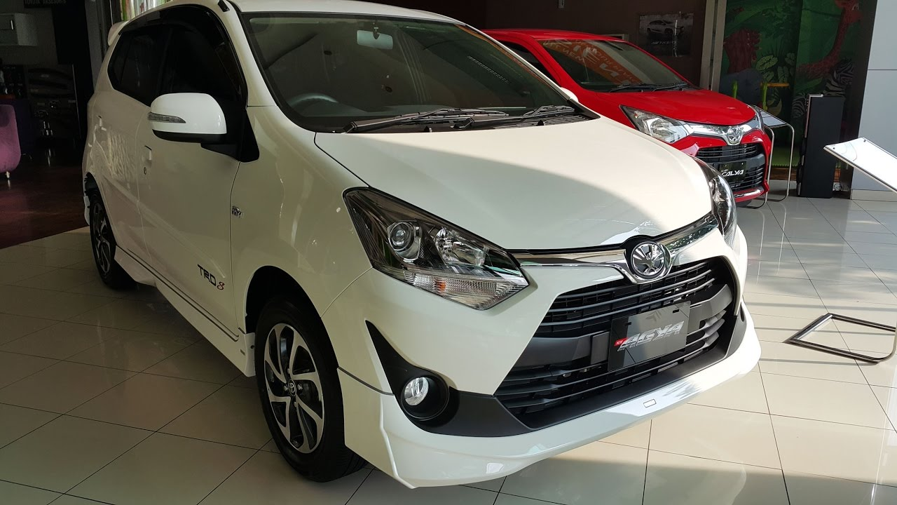 new agya trd 2018 bemper depan grand avanza veloz toyota s 2017 youtube