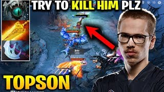 They Tried to Kill Him But NOPE - He is TOPSON The TI WINNER